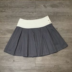 JOA Pleated Mini Skirt